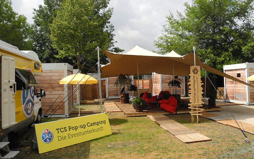 TCS Pop up Camping