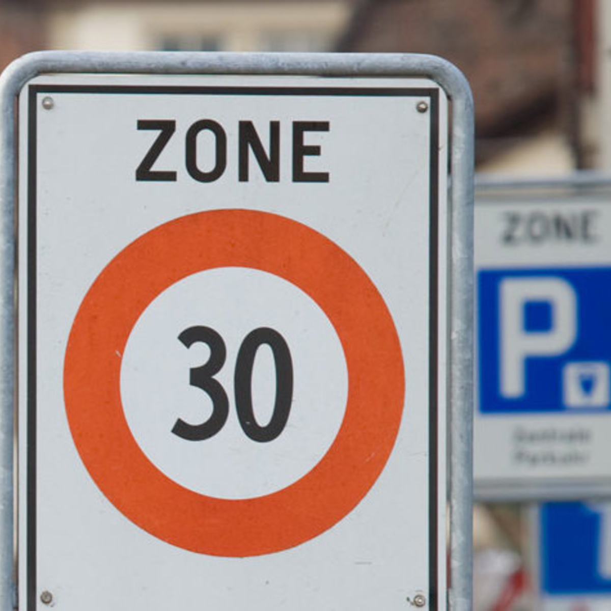 quelle est la vitesse maximale dans une zone de rencontre