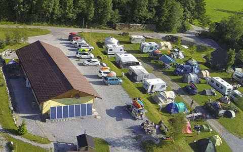Camping Arnist Oberwil im Simmental / BE
