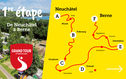 1re étape: Camping Grand Tour of Switzerland Neuchâtel - Berne