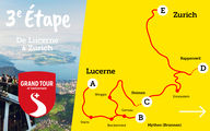 3e étape: Camping Grand Tour of Switzerland Lucerne - Zurich