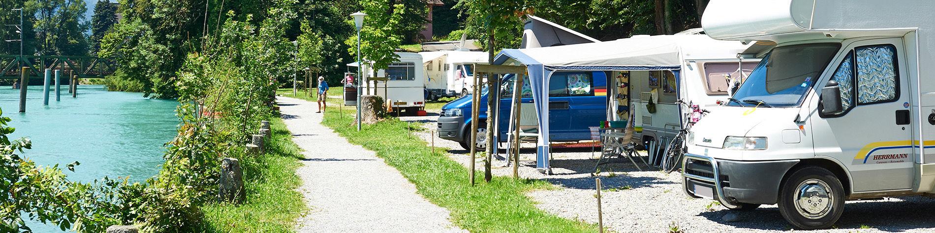 gancio di campeggio in Francia