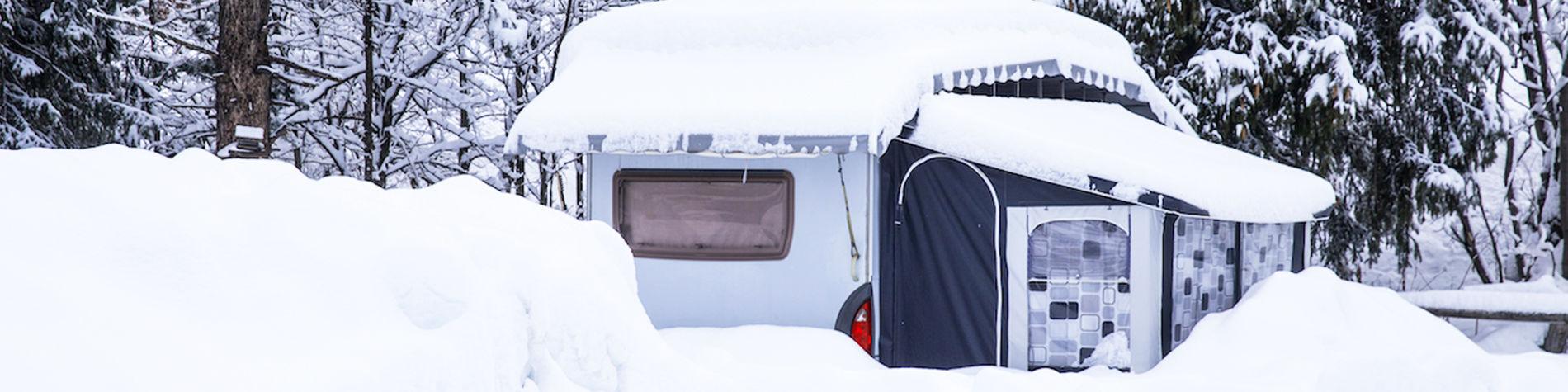 Das richtige Wintervorzelt für Ihr Campingfahrzeug - TCS Schweiz
