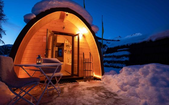 TCS Camping Scuol - camping d'hiver