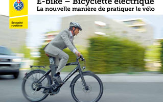 E-bike - Bicyclette électrique - Brochure A5