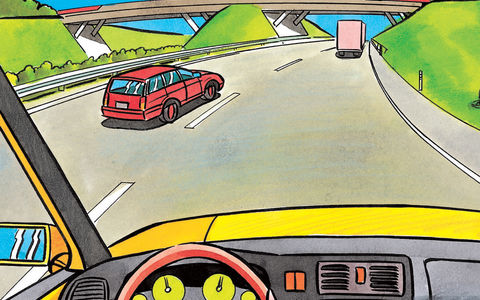 Überholen auf der Autobahn: Rechtsüberholen bedingt erlaubt
