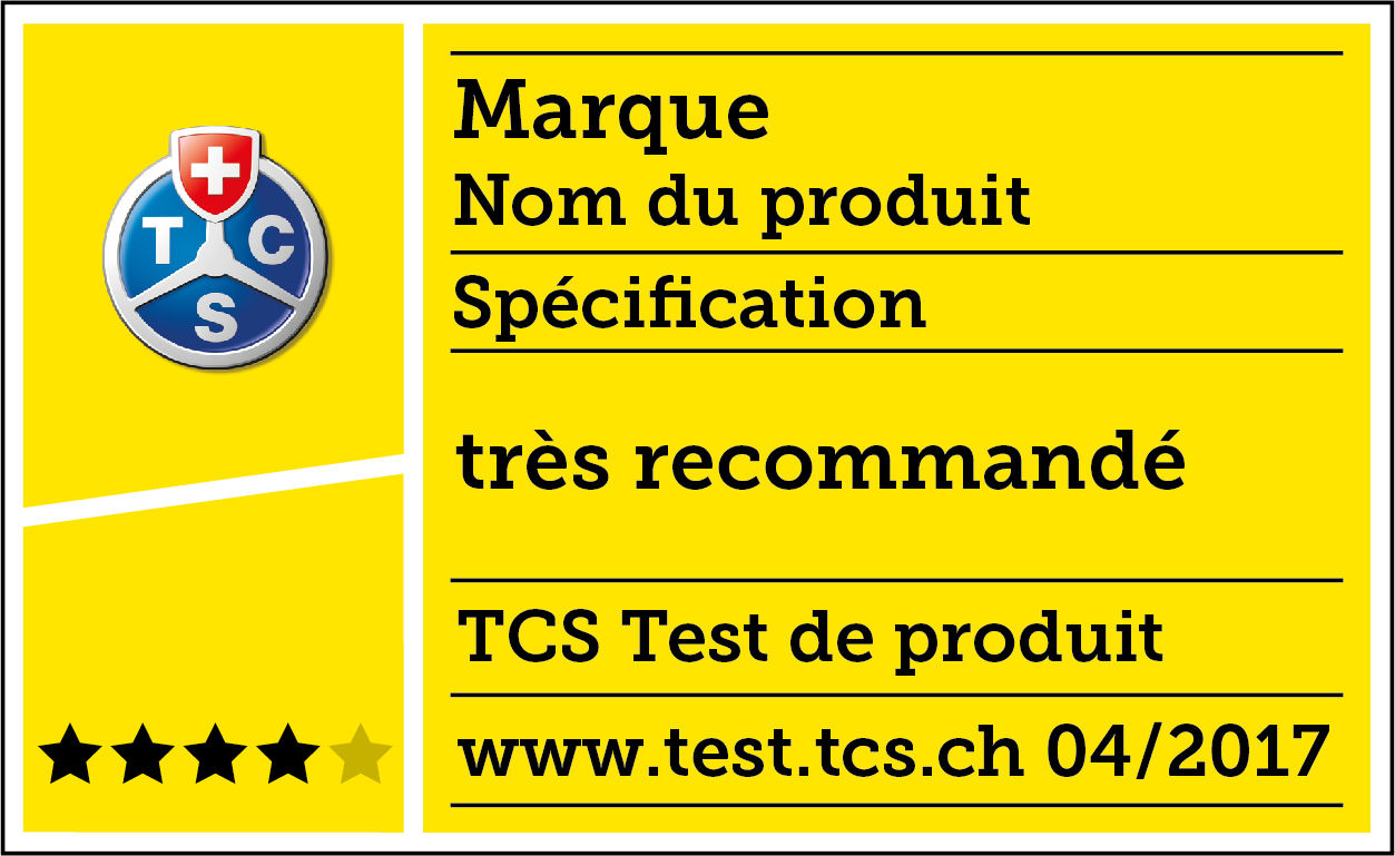 Label de test TCS