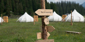 TCS Pop-up Glamping