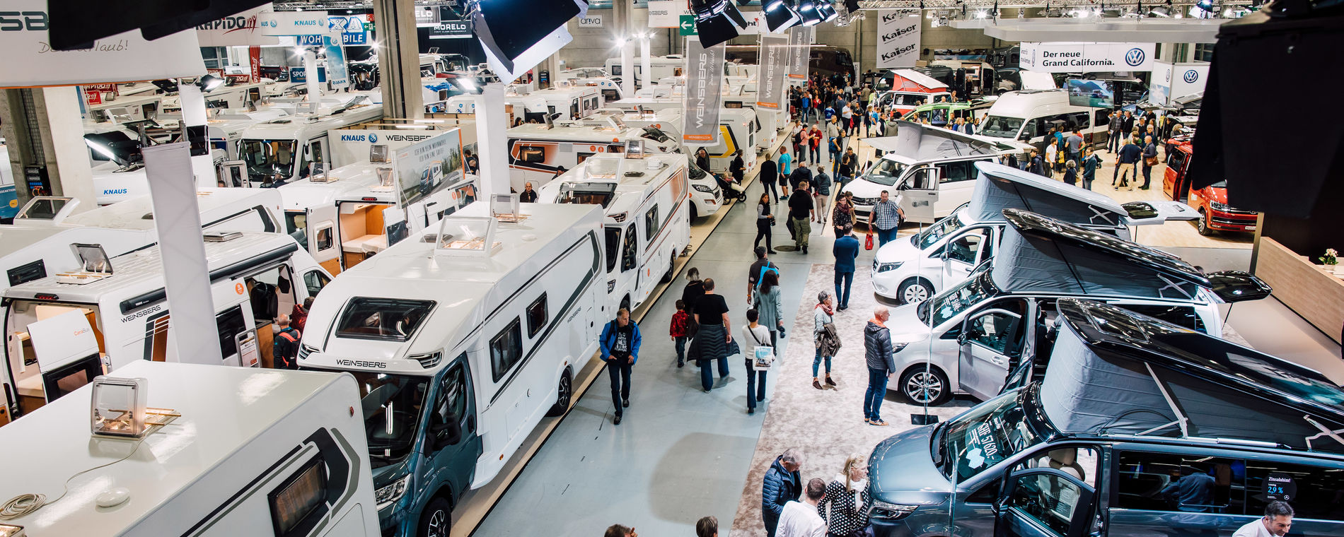 Suisse Caravan Salon 2019 in Bern