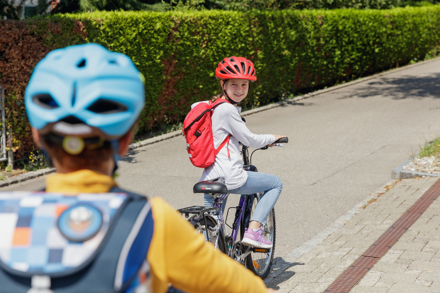 enfants rouler a velo en securite